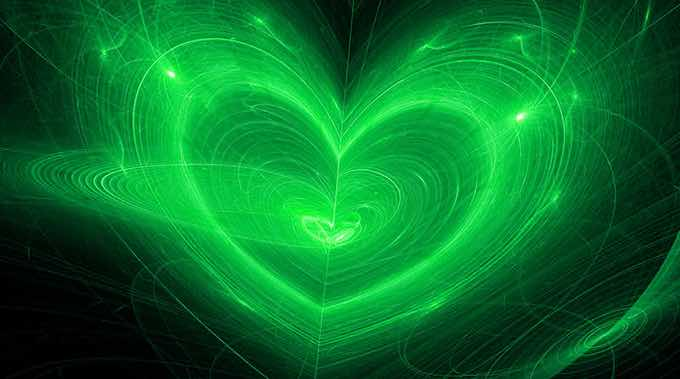 Anahata (Heart) Chakra – To Live with Love or Pain - image Love-Heart-Chakra on https://www.rudrakshabenefits.com