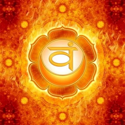 Learn How Solutions to Joyfulness and Pleasure Lies Within Your Sacral Sex Chakra - image Swadhisthana-Chakra on https://www.rudrakshabenefits.com
